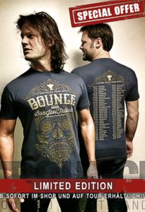 BOUNCE Limited Tour Shirt 2015