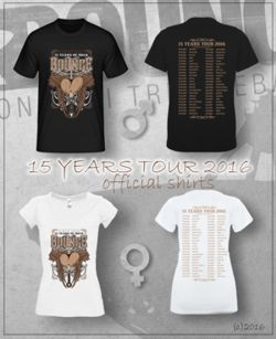 BOUNCE 15 Years Shirts