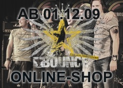 BOUNCE Online Shop ab 01.12.